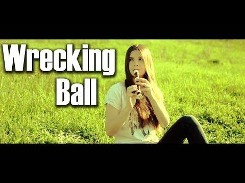 Miley Cyrus - Wrecking Ball (Elizabeth Postol cover)