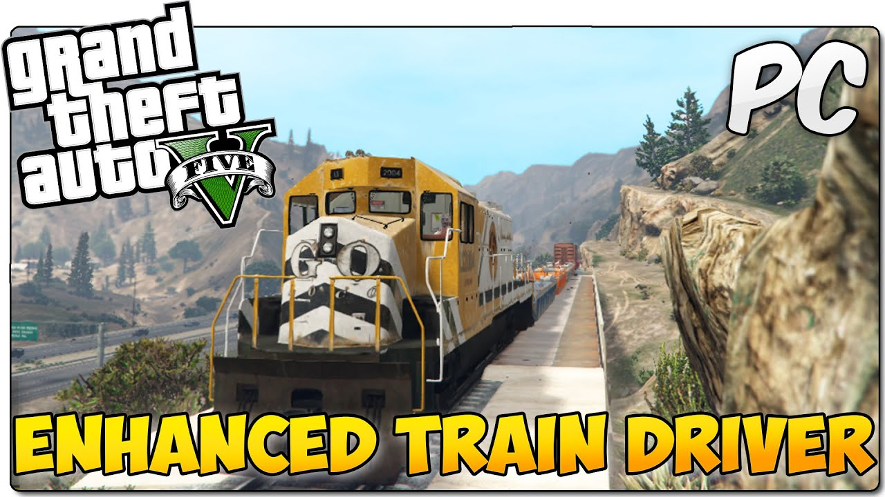 how to drive a train in gta 5 ps3