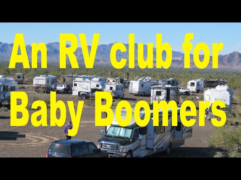 An RV club for Baby Boomer RVers