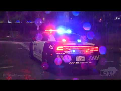 03-16-2020 Dallas, TX - Torrential Downpours Cause High Water And Stranded Drivers Overnight