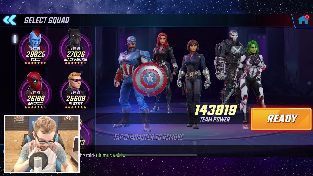 Level 58 Wasp Event Playthrough Part 1 - Unlocking Wasp Journey - Marvel  Strike Force  Seatin Man Of Mobile Gaming - Gigantic X 22:39 HD