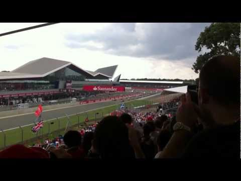 Start of the 2011 British Grand Prix, Silverstone