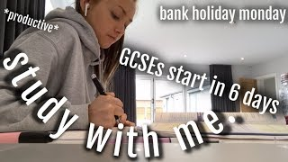 GCSE Revision 6 days to go! STUDY WITH ME!