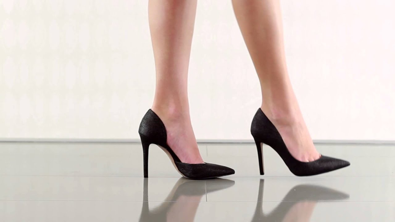 813731674ca Claudette in Black Dusty Glitter Jessica Simpson - YouTube