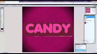 Pixlr: Онлайн-фотошоп: Создание конфетного текста