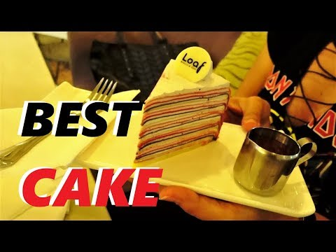 BEST CAKE IN PATTAYA LOAF BAKERY | Food review + interview with Boom singer at Jony bar