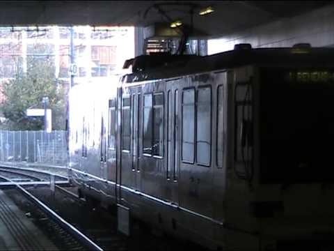 Metro de lausanne M1 station vigie