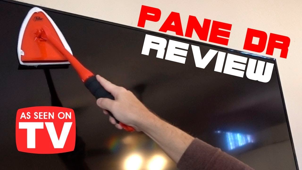 pane dr review as seen on tv window cleaner
