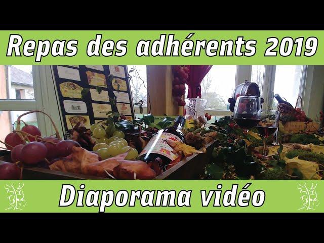 Diaporama Repas Adhérents Beaujolais Nouveau 2019