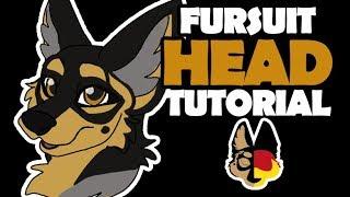 Fursuit Head Tutorial 🐺 German🐾 DIY Fursuit 🐾Suitbau