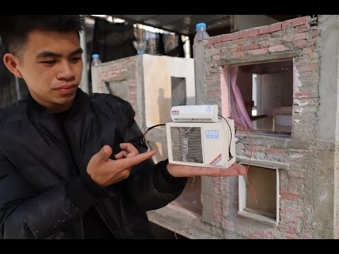 Making MINI Air Conditioner丨Multifunctional/Personal Use - Mars Project Team