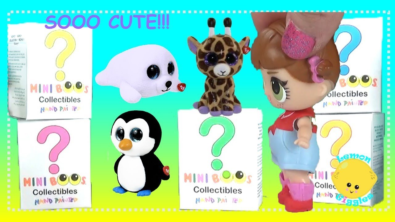 Beanie BOOs Mini Boos Ty Collectible Figures Blind Box Series 1 LOL Dolls  Unboxing 760f4d3201f