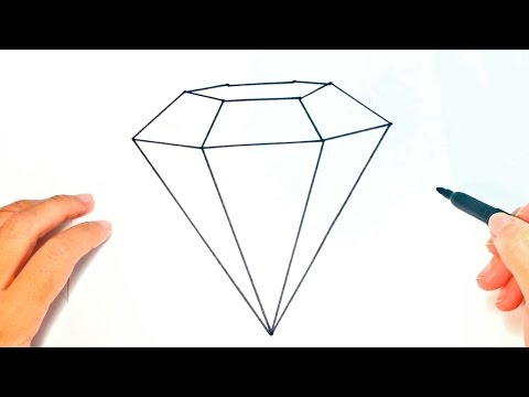 How To Draw Diamond