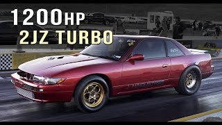Into the 7s | 1200hp 2JZ Nissan Silvia