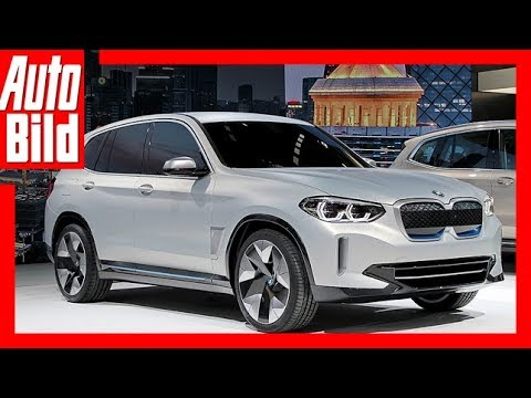 Bmw Ix3 Concept Auto China 2018 Details Erklarung Youtube