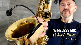 Compact Wireless Sax Mic Unboxing, Play-Test & Review