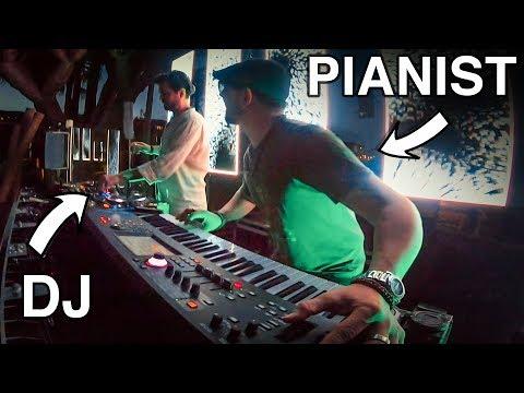 When DJs Meet Pianists