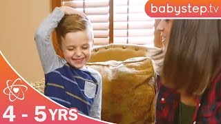 Fun And Games For Children 4 To 5 Years | Fun Activities For Kids By Babystep.tv
