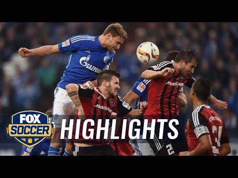 FC Schalke 04 vs. FC Ingolstadt 04 | 2015–16 Bundesliga Highlights