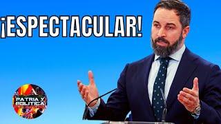 """ES vuestra ÚLTIMA OPORTUNIDAD!"""" / 🔥 SANTIAGO ABASCAL ofreció las CLAVES DEL ÉXITO / La RESISTENCIA"""
