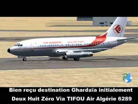 Atterrissage rat d 39 aigle azur l 39 aeroport d 39 alger vue for Air algerie reservation vol interieur