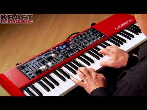 Kraft Music - Nord Electro 5 Keyboard Demo with Chris Martirano