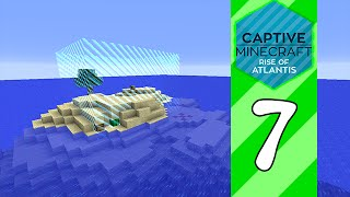 Captive Minecraft III: Rise of Atlantis - E7 The Surface