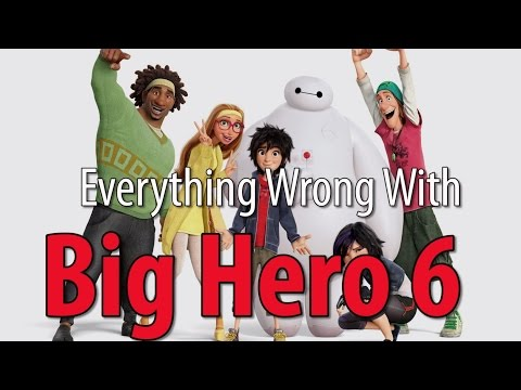 Everything Wrong With Big Hero 6: Even lovable animated superhero movies have sins. And believe it or not, this is one of the most requested movies we haven't done yet. So here we are to rain on Big Hero 6.   Jeremy wrote a book: http://theablesbook.com  Thursday, Romance sins.   Remember, no movie is without sin. Which movie's sins do YOU want to see recounted?   Tweet us: http://twitter.com/cinemasins Tumble us: http://cinema-sins.tumblr.com Call us: 405-459-7466 Reddit with us: http://reddit.com/r/cinemasins
