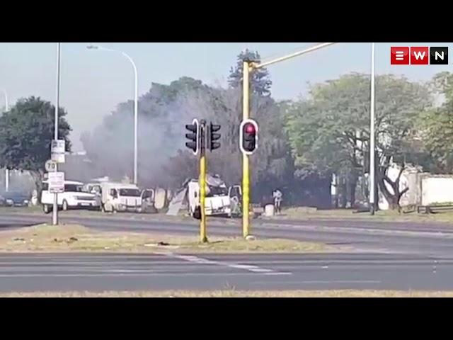 Cash in transit heist in Boksburg