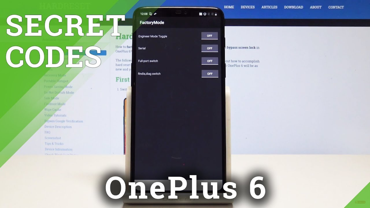 Secret Codes OnePlus 6 - Hidden Modes / Tricks / Advanced Options
