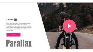 Pure CSS Parallax Scrollinig | No JavaScript | HTML 5 & CSS 3
