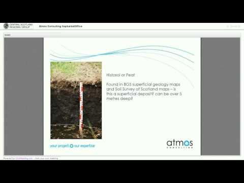 Soil and Rocks Lecture - Central Scotland Regional Group