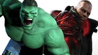 Prototype 2 vs The Incredible Hulk