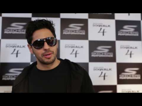 Sidharth Malhotra at Skechers Flagship Store Connaught Place, Delhi.