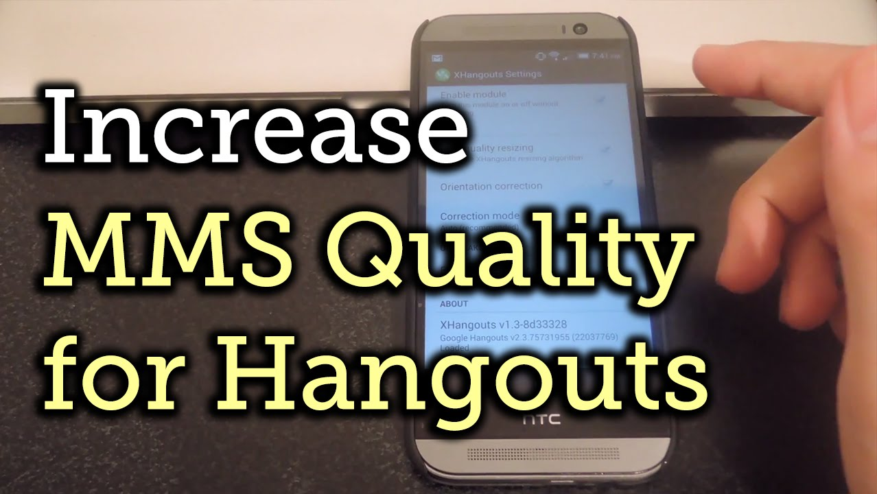Improve Your MMS Picture Quality with XHangouts for Android [How-To]
