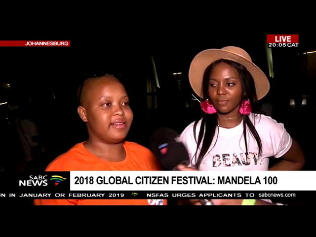 Fans wowed by  Global Citizen Festival line-up
