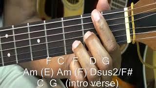 How To Play Hakuna Matata The Lion King 🦁 On Guitar - Disney Part 1 Resimi