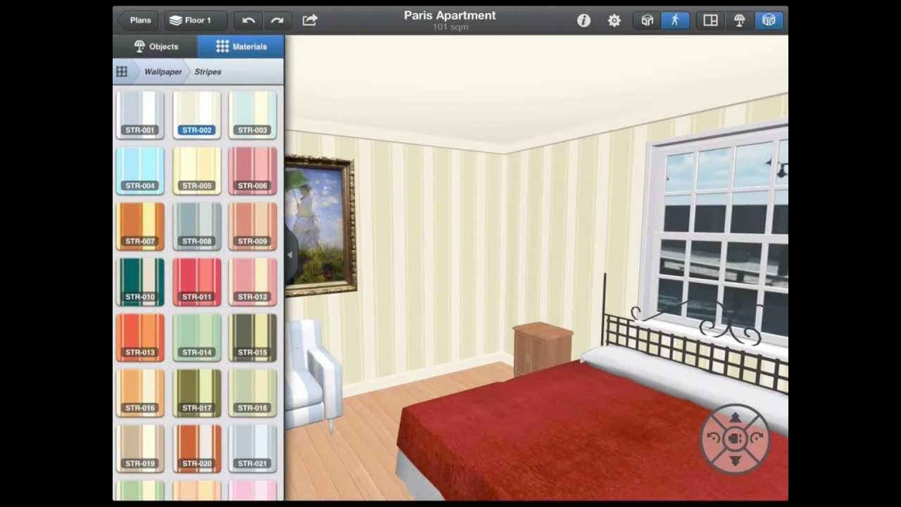 Interior Design for iPad - YouTube