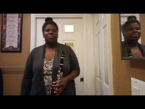 Future- Mask Off Clarinet Cover #Maskoffchallenge- VEDA Day 4