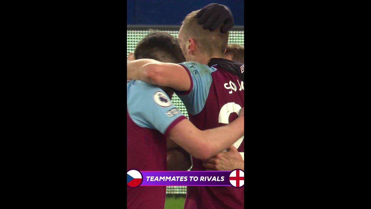 When teammates become RIVALS! | Czech Republic v England | Euro 2020