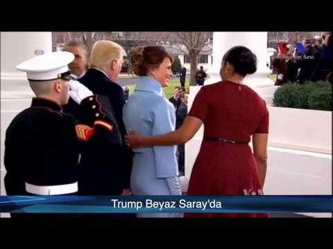 Trump Beyaz Saray'da