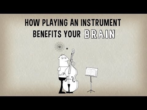 I benefici sul cervello di chi suona uno strumento - Anita Collins (ITA - Luce)