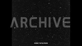 Archive - So Few Words