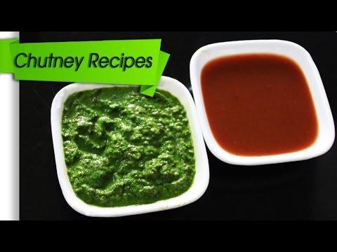Chutney Recipes Dhaniya ( coriander chutney) Imli (Tamrind) Chutney
