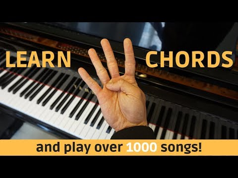 Learn 4 Easy Chords to Quickly Play Thousands of Songs!