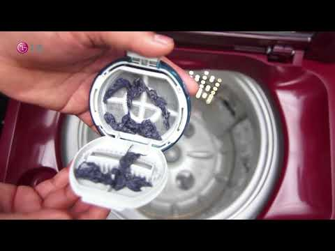 [LG Top Load Washer] - Learn how to clean Lint/Magic filter in  LG Top Load Washing Machine