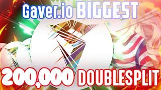 IMPOSSIBLE WORLDS BIGGEST 200,000+ DOUBLESPLIT // Gaver.io Gameplay