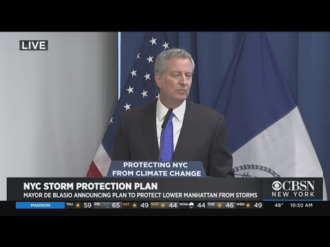 De Blasio Unveils Storm Protection Plan