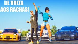 GTA 5: VIDA VELOZ - LEVEI A IRMA DO BIG PARA UM RACHA EM DUPLA!!! CHEGA DE POLICIA NA BOTA!! - #21