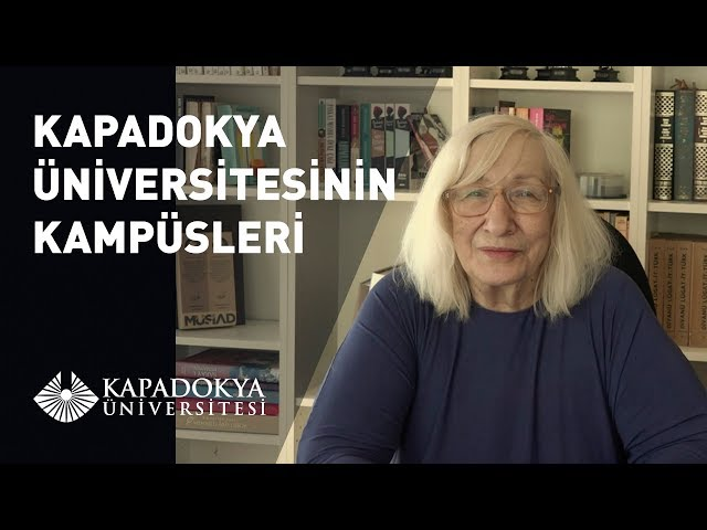 Kapadokya Üniversitesinin Kampüsleri | Alev Alatlı | Kapadokya Üniversitesi